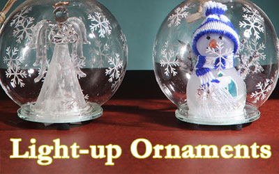 NEW: Light-up Color Changing Ornaments